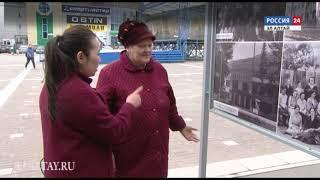 На выставке в Горно-Алтайске представлены уникальные фотографии и картины