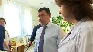 Амбулатория поселка Борок получила УЗИ-аппарат и машину скорой помощи