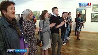 Смоляне могут увидеть изображения Москвы на полотнах Ивана Полиенко