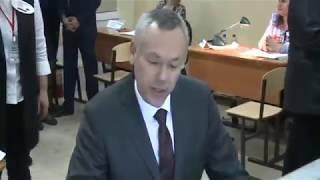 Врио губернатора Новосибирской области принял участие в выборах