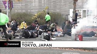Антитеррористические учения в Токио