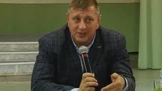 Глава города провел встречу с жителями пш «Берёзовская»