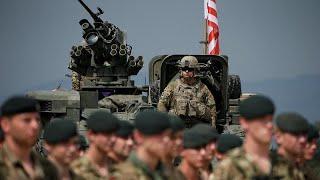 Военные НАТО прибыли на учения в Грузию