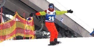 Любители горнолыжных спусков не испугались устроить чемпионат в Ханты-Мансийске