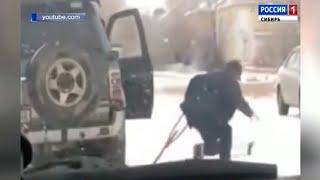 Инвалида на костылях избили полицейские в Алтайском крае