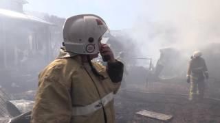 Пожар в Каясе