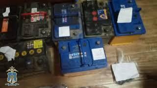 В Георгиевском городском округе задержали подозреваемого в серии краж автомобильных аккумуляторов
