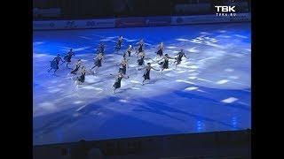 В Красноярске прошли тестовые соревнования по фигурному катанию