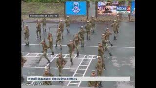 Чувашские школьники отправились защищать честь республики в оборонно-спортивный лагерь «Гвардеец»