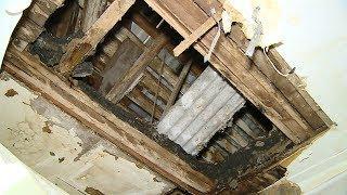 В квартире на юге Волгограда рухнул потолок