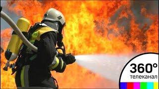 На юге Москвы в пожаре погиб человек