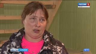Многодетную мать из Кончезера обманули строители