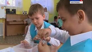 в Костроме прошел первый техномарафон среди детсадовцев