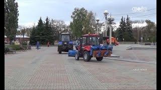 Города и сёла в Ставропольском крае станут чище: регион обновляет коммунальную технику
