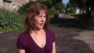Жителям Старого Кировска помогли с благоустройством придомовых территорий