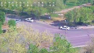 ДТП (авария г. Волжский) ул. Пушкина ул. Энгельса 12-05-2018 08-50