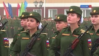 Курсанты костромской Военной академии РХБ защиты приняли присягу