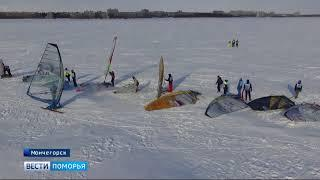 Три медали с Чемпионата и Первенства России привезла Cборная региона по зимнему виндсерфингу