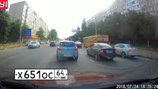 """""""Автохам"""": первая подборка нарушений ПДД в августе"""
