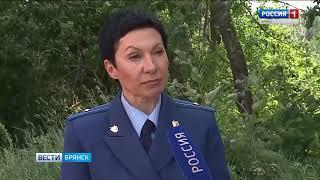 Пожары на закрытой свалке в Жуковке