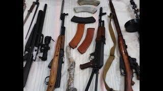 Гранатомет и пистолеты изъяли у преступной группы на Кавминводах