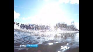 Как в Сибири: в Калининграде прошёл открытый чемпионат области по зимнему плаванию