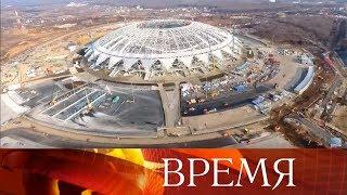 Дмитрий Азаров: Работы на стадионе «Самара-Арена» будут завершены к концу марта.