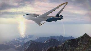 Ученые ЕС изменят дизайн самолетного крыла