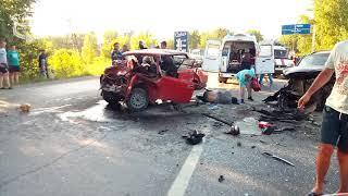 25.06.2018 ДТП Ачинск. Перед Назаровской горой.