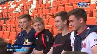 На стадионе «Мордовия арена» прошел футбольный урок для рузаевских футболистов