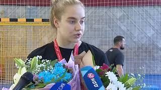 В Ростов вернулись победительницы молодежного чемпионата мира по гандболу