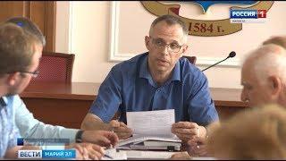 Вице- мэр Йошкар-Олы Андрей Загайнов арестован за покушение на получение взятки