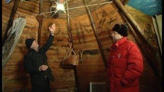 Народный умелец из Ханты-Мансийска сделал чум своими руками