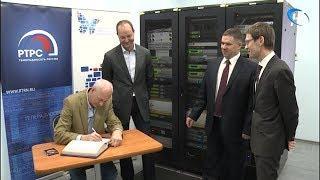 Заместители главы Минкомсвязи посетили новгородский радио-телепередающий центр