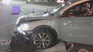 ДТП под Киевом на Одесской трассе: водитель Фольксваген