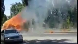 По Нальчику промчался «Призрачный трактор» и попал на видео