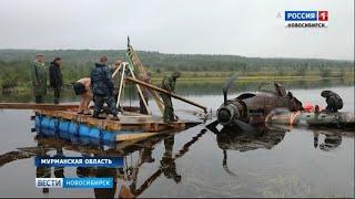 В Новосибирск из Мурманской области на реставрацию привезли самолёт Ил-2