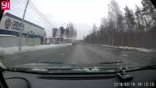 ДТП на Приморском шоссе 10 марта 2018 в 18 часов