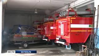 Группировки пожарных направились в возможные зоны подтопления