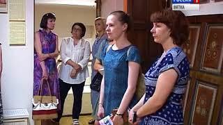 Коллекция народной домовой росписи в областном краеведческом музее(ГТРК Вятка)