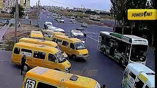 ДТП (авария г. Волжский) ул. Карбышева 27-й микрорайон 25-09-2018 07-07