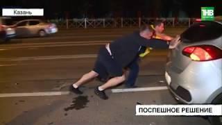 На улице Николая Ершова столкнулись автомобили - ТНВ