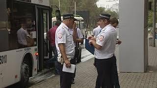 Маршрутка врезалась в автобус в Ростове на Стачки