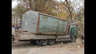 В Самаре продолжается демонтаж самовольно установленных металлических гаражей