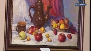 В «Дизель-Арене» открылась выставка «Сурская палитра»
