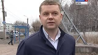 Новый остановочный павильон на перекрестке улиц Щорса и Производственной(ГТРК Вятка)