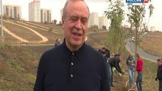 В Ростове сегодня высадили больше 5 тысячи молодых деревьев