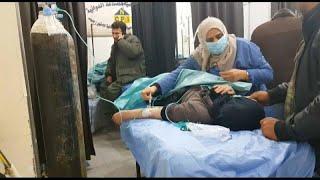 Боевики подверглись авиаударам после химатаки в Алеппо…