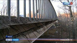 В Пензе во время ремонта улицы Антонова забыли про пешеходов