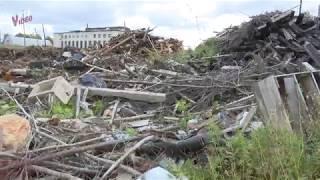 Строительный мусор сваливают вокруг Петрозаводска